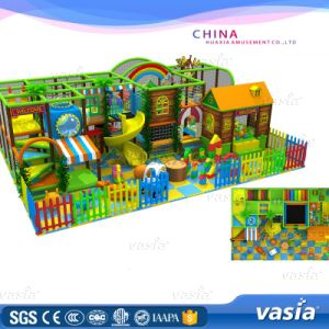 Wooden material Hot Sales Indoor Modular Playground pictures & photos