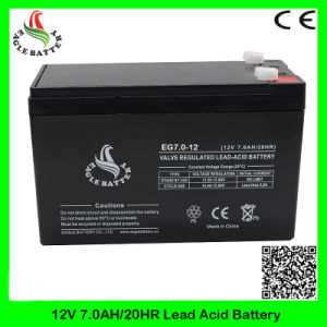 12V 7.0ah Mf Rechargeable VRLA Storage AGM Lead Acid Battery