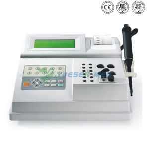 Medical Lab 2 Channels Automatic Blood Coagulation Analyzer pictures & photos