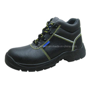 New Middle Cut Cheap Men Work Shoes pictures & photos