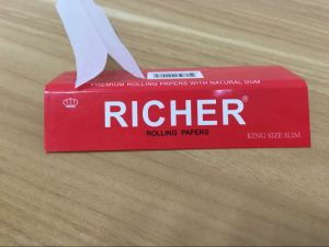Richer 14 GSM Cigarette Paper with Filters Tips pictures & photos