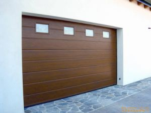 Remote Controlled Automatic Double Single Anti Burglar Security Garage Door pictures & photos