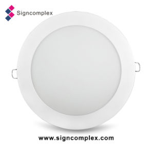 Super Slim LED Round Ceiling Panel Light with Ce RoHS pictures & photos