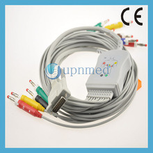 Bionet 10 Lead EKG Cable with Lead Wires pictures & photos