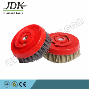 Jdk Rotundity Brush with Nylon Backing for Granite pictures & photos