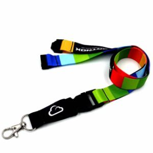 Heat Transfer Printing Lanyards with Safety Buckles pictures & photos