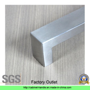 Factory Price Hollow Stainless Steel Furniture Drawer Kitchen Cabinet Hardware Door Pull Handle (U 003) pictures & photos