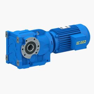 Hollow Shaft Helical-Bevel Gearbox with Motor pictures & photos