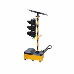 200mm Wireless Trolley Mobile Portable Signal Light Solar Traffic Light pictures & photos