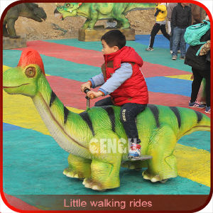 Outdoor Playground Life Size Amusement Dinosaur Ride pictures & photos