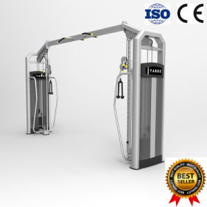Gym Fitness Equipment Strength Machine Body Building Adjustable Crossover Cable Machine pictures & photos