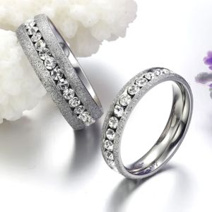 Fashion Mens Women Couple Stainless Steel Rings Jewelry pictures & photos