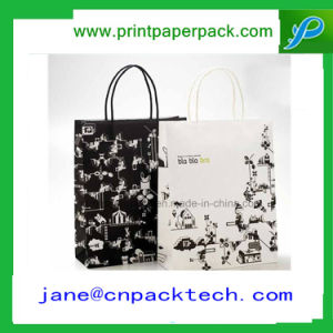 Custom Fashion Bags Carrier Shopping Gift Kraft Paper Bag pictures & photos