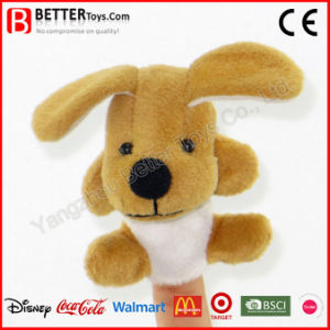 Plush Soft Dog Stuffed Finger Puppet for Baby Kids pictures & photos