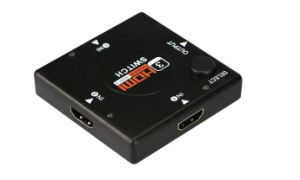3 Ports HDMI Switch up to 1080P High Resolution pictures & photos