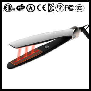 Best Pearl White Ceramic Infrared Hair Straightener (V189) pictures & photos