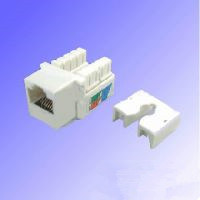 High Quality Unshielded Cat5e Keystone pictures & photos