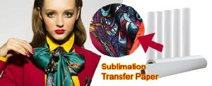 1.62m/1.4m Width Fw75GSM Anti-Curled Instant Dry Sublimation Inkjet Transfer Paper for Mimaki Jv/Epson /Mutoh/Roland pictures & photos