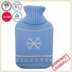 Snowflake Knitted Cover with Hot Water Bottle pictures & photos
