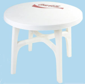 Round Plastic Folding Table pictures & photos