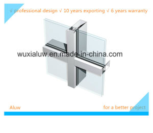 Envrimental Protection Exposed Frame Curtain Wall pictures & photos