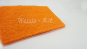 Colorful Non-Abrasive Kitchen Cleaning Products Scouring Pad pictures & photos