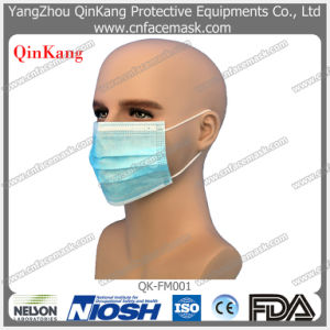 Disposable Medical Nonwoven Face Mask with Earloop or Tie on pictures & photos