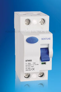 Sontune Stn60-63A Series RCCB 4p Residual Current Circuit Breaker pictures & photos