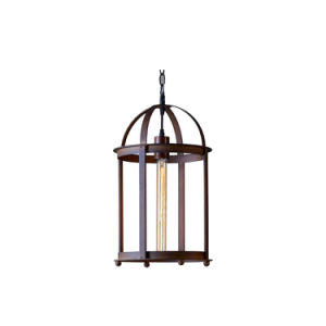 Modern Metal Bird Cage Style Hanging Lamp Pendant Light for Shops China Oz-Al654 pictures & photos