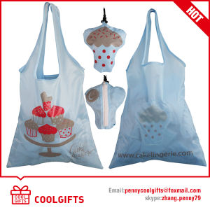 Reuseable Nylon Foldable 190t Drawstring Bag for Advertising pictures & photos