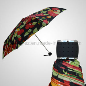 3 Fold Manual Umbrella Light Fashion Mini Wholesale Umbrella (JF-MDB304) pictures & photos