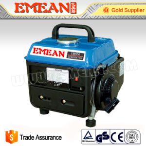 700W Silent Portable Small Petrol Gasoline Generator Set pictures & photos