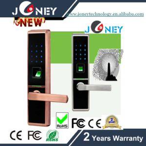 Zinc Alloy Metal Casing Fingerprint Door Lock Can Remote Control pictures & photos
