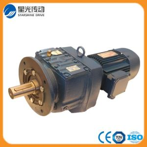 R Series Helical Geared Motor Vertical Agitator Gearbox with Motor pictures & photos