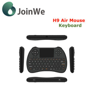 H9 Air Mouse Wireless Mini 2.4GHz Mini Keyboard pictures & photos