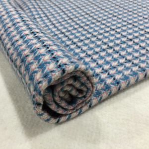 Slender Check Houndstooth Wool Fabric Ready pictures & photos