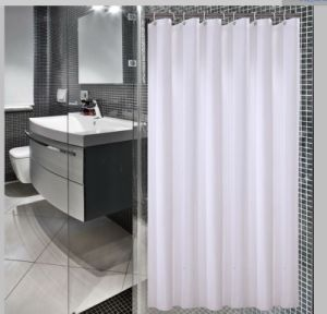 Polyester Jacquard Mildew-Resistant Bath and Shower Curtain pictures & photos