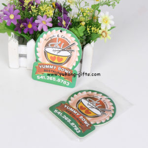 Superior Quality Various Fragrance Hanging Decorative Car Air Freshener (YH-AF213) pictures & photos