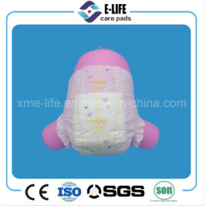 Cheap Mozambique Disposable Baby Diaper Pamper with PP Tape pictures & photos