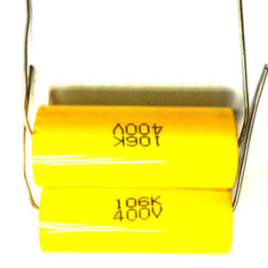 Metallized Polypropylene Film Capacitor Axial Type Cbb20 pictures & photos