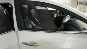 Customized Elantra Mesh Fabric Sunshade with Plastic Clip pictures & photos