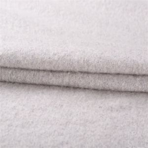 Mohair and Wool Mixed Wool Fabric with Smooth Hand for Winter pictures & photos