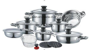 17PCS Stainless Steel Cookware Set pictures & photos