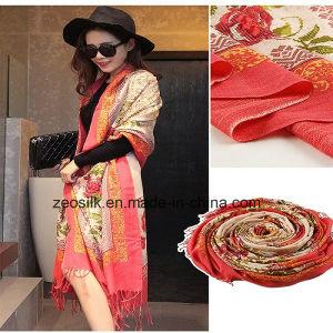 Printed OEM Custom Design Wool Scarf pictures & photos