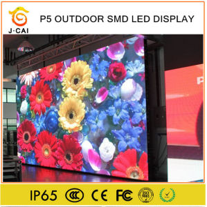 Outdoor High Definition P5 Ture Color LED Module Low Price pictures & photos