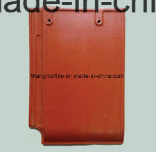 Factory Supplier-New Design 280*400mm Building Meterail Clay Flat Roofing Tile pictures & photos