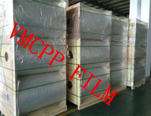 Metallic Plastic Film VMPET Film /Metallised Polyester Film 10micron pictures & photos