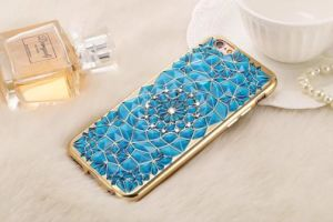 Luxury Gold Bling Glitter Plating Diamond Phone Case for iPhone 7 Plus 6 6s Plus Soft TPU Back Se 5 5s Cover (XSDD-018) pictures & photos
