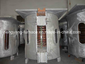 Medium Frequency Induction Electric Furnace for 1t pictures & photos