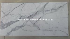 Calacatta Statuario White Marble Stone Tile, Marble Tile pictures & photos